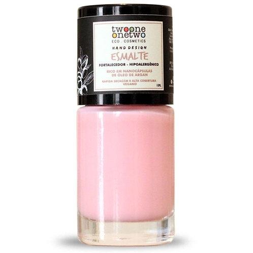 Esmalte Hipoalergenico Fortalecedor Light Rose - Twoone Onetwo