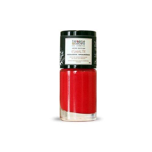 Esmalte Hipoalergenico Fortalecedor Poppy Red - Twoone Onetwo