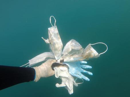 Cresce o número de embalagens plásticas na pandemia.