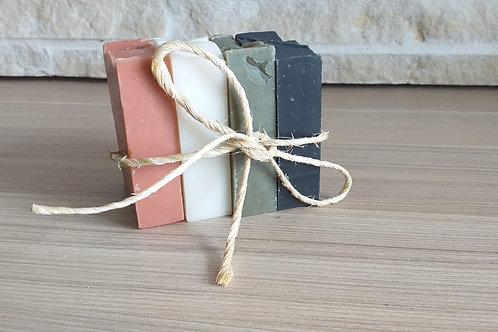 Kit 4 sabonetes de argila - FLOR DE NIM