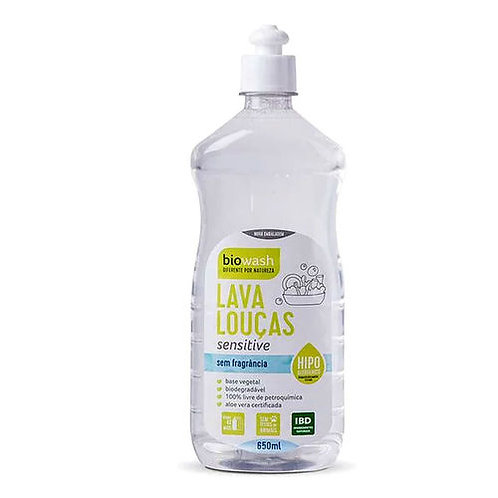 Lava Louças Sensitive 650ml - BIOWASH