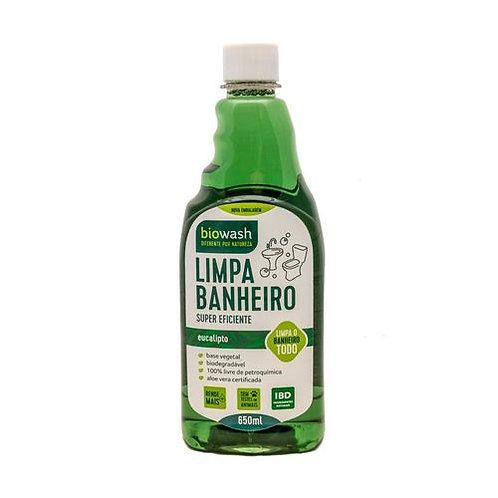 Limpador De Banheiro Refil Biodegradável Pinho & Eucalipto 650 Ml - BIOWASH
