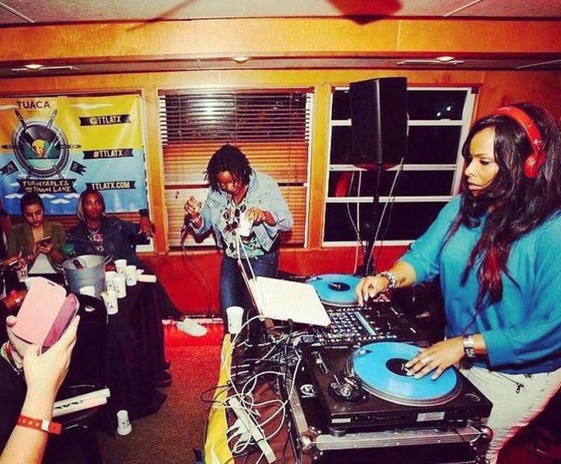 DJ Spinderella & Mahogany Dane - SXSW / TTLATX