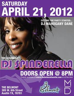 DJ SPINDERELLA - APRIL 2012