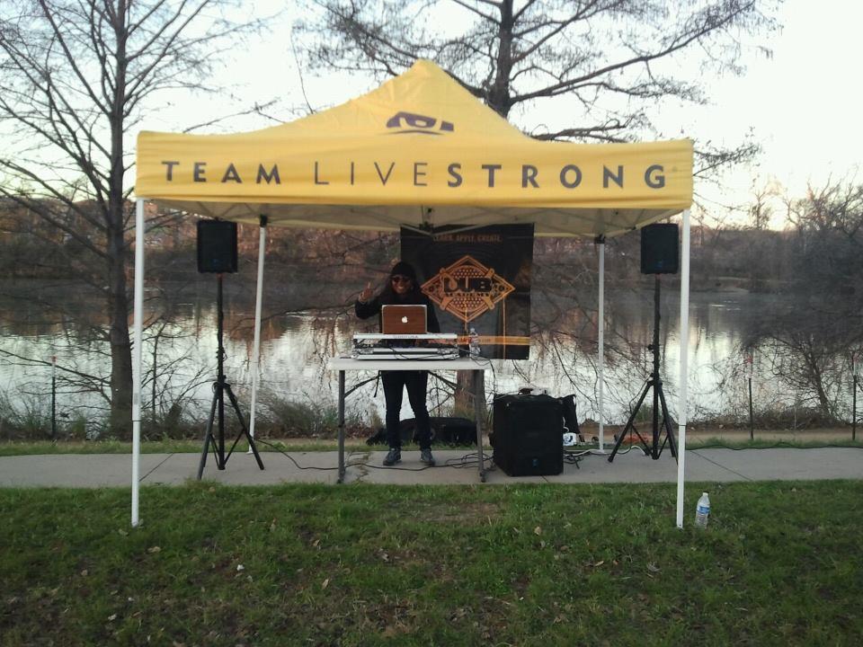 Mahogany Dane @ LiveStrong Marathon
