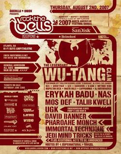 ROCK THE BELLS - 2007