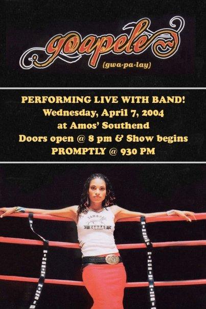 GOAPELE - 2004, Charlotte, NC