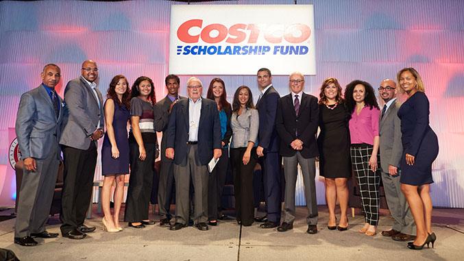 Costco Scholarship Breakfast 2014