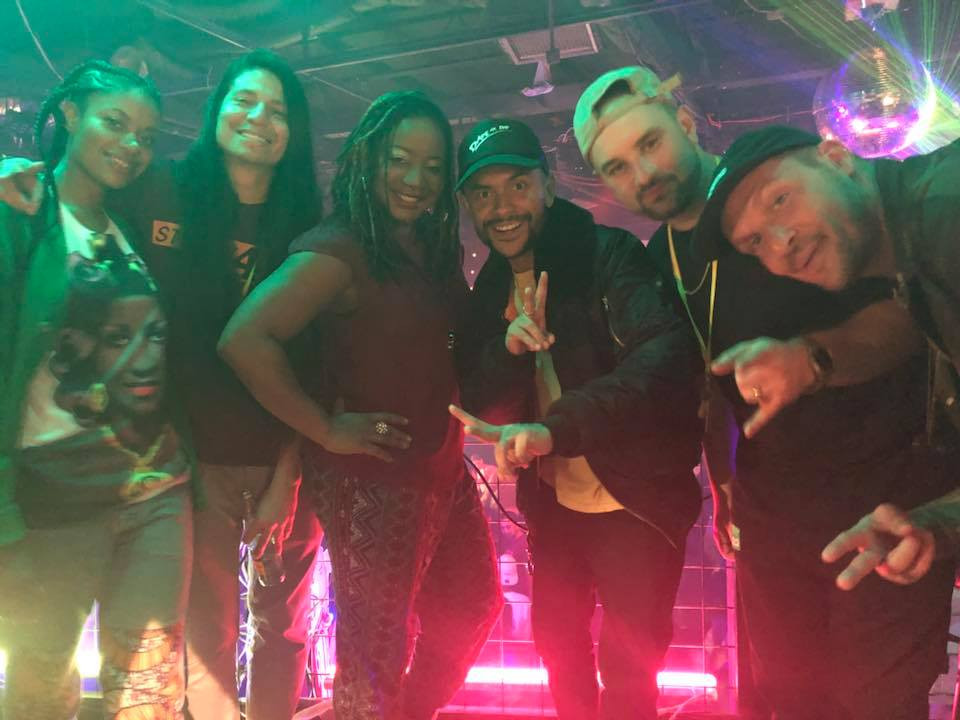Mahogany Dane, DJ Craze, Dave Nada, Smiles Davis, Deejay Theory - SXSW