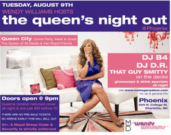 WENDY WILLIAMS EVENT - Charlotte, NC