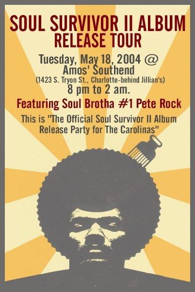 PETE ROCK - 2004, Charlotte, NC