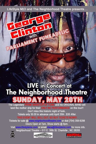 GEORGE CLINTON & P-FUNK - 2005