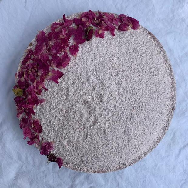 Rose Infused Olive Oil Cake