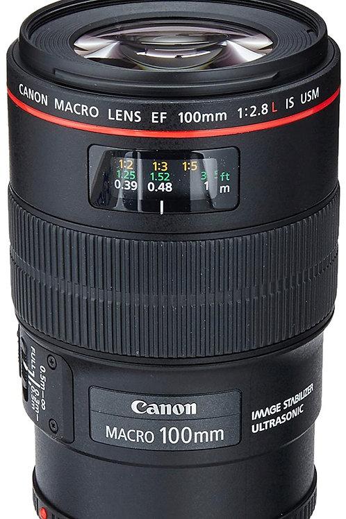 Canon 100mm L series prime lens