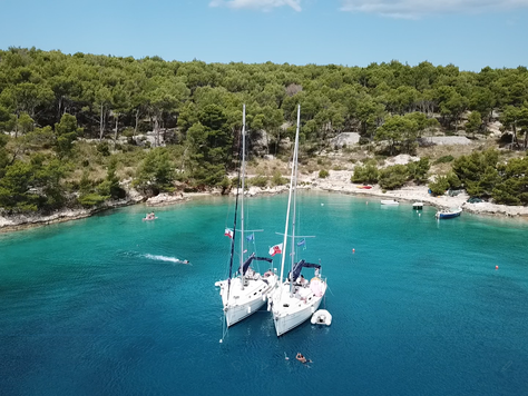 Sailing the Dalmatian Islands, Croatia