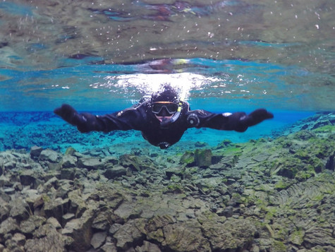 Snorkelling the Silfra Fissure with DIVE.IS