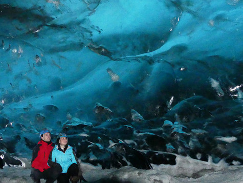 Visiting One of the Largest Ice Caves: Vatnajokull Glacier with GoEcco