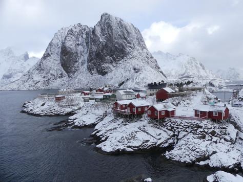 Staying at Eliassen Rorbeur, Norway