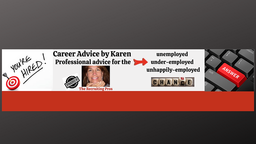 YouTube Channel Art - Career Advice by K