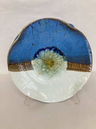 "10"" glass dish"