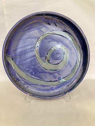 "17"" purple platter"