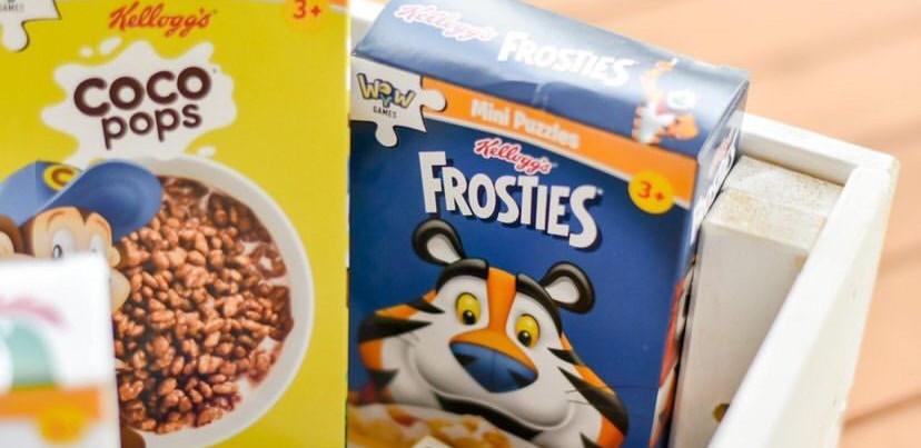 Mini Puzzles Kellogg's - Frosties