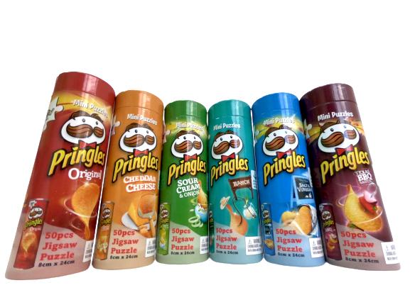 Mini Puzzles Pringles - Full Set