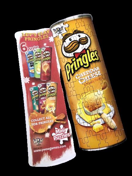 Mini Puzzles Pringles - Cheddar Cheese Puzzle