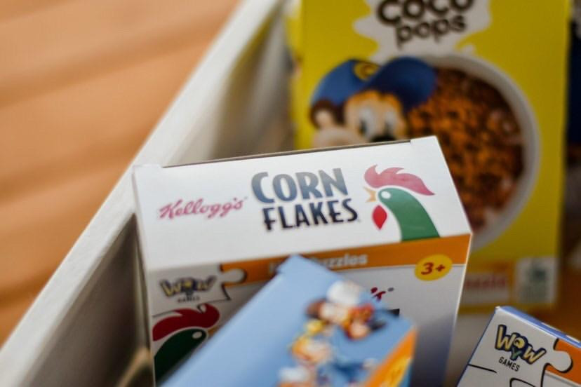 Mini Puzzles Kellogg's - Corn Flakes
