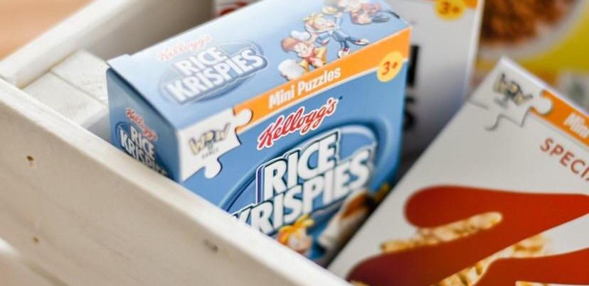 Mini Puzzles Kellogg's - Rice Krispies