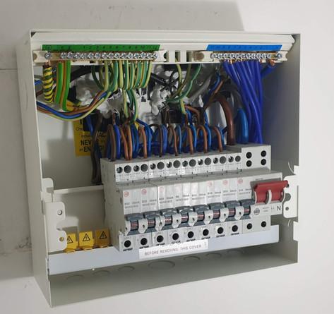 RCBO Consumer unit