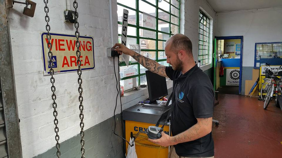 Testing a Garage