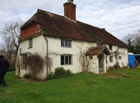Rewiring a 16th Century Cottage