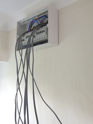 New installation  - Rewiring