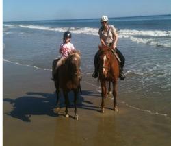 Girls on Beach.HOR