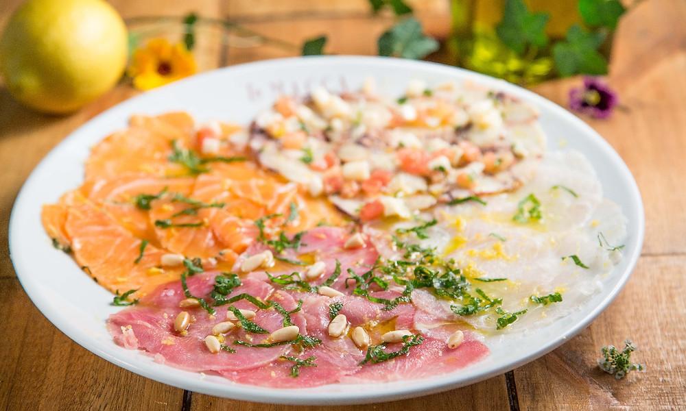 Melhores Restaurantes Novos La Macca Pizzaria gastronomia Jardins Linguini trio crudos