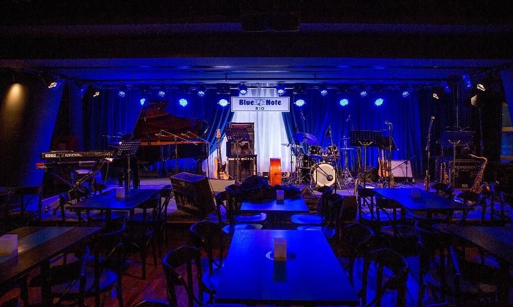 Melhores bares novos Blue Note Rio Lagoa Calainho Pedro Artagão Jazz