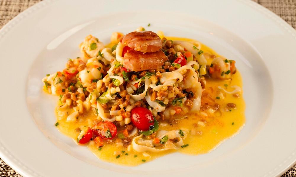 Melhores Restaurantes Novos Mondo gastronomia Salvatore Loi Lalo Jardins Massa Frutos do mar
