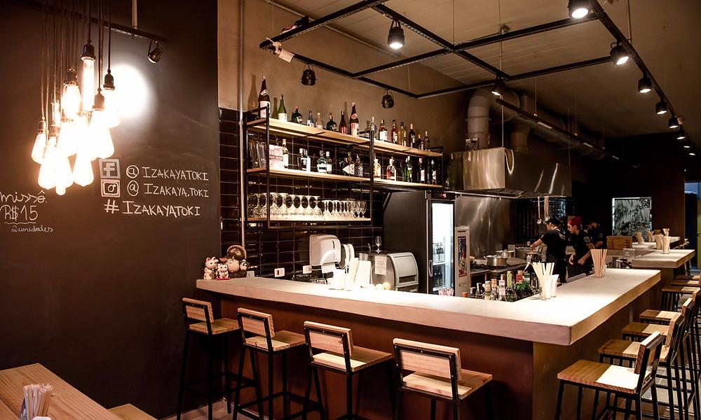 Melhores bares novos izakaya Toki Pinheiros sakê balcão