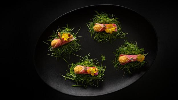 Restaurante 911, nos Jardins: onde Porsches e receitas com ingredientes brasileiros - formigas, incl