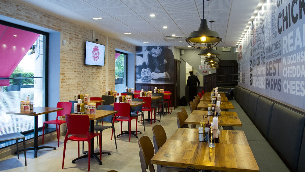 Melhores Restaurantes Novos JOHNNY ROCKETS hambúrguer Oscar Freire São Paulo