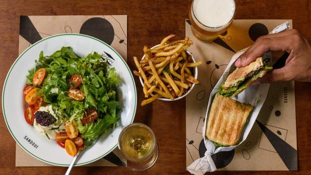 Especializado em sanduíches, o Sandoui, no Jardim Paulista, deixa as opções requintadas de lado e co