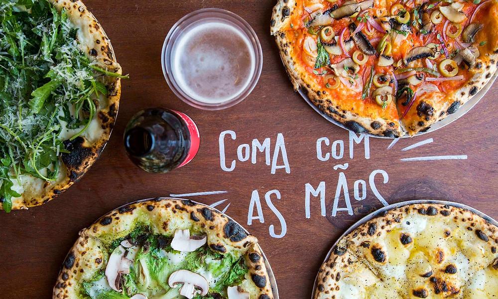 Melhores restaurantes novos Bráz Elettrica Pizzaria Pinheiros CiaTC