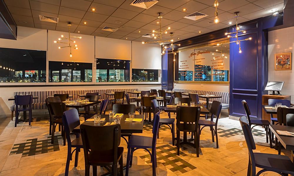 Melhores Restaurantes Novos Brasserie Mimolette leblon shopping Rio de Janeiro Salão