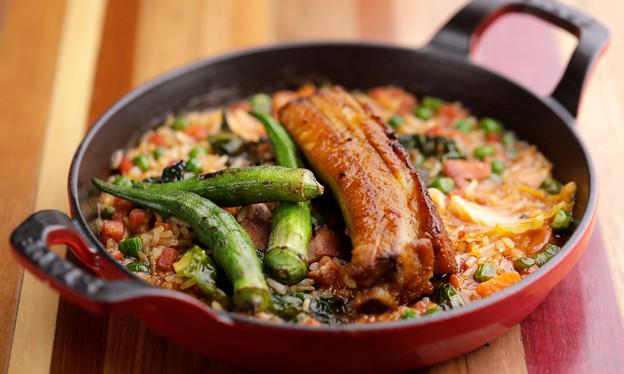 A colorida culinária nordestina do chef Rodrigo Oliveira, do Mocotó, agora também no Balaio IMS, na
