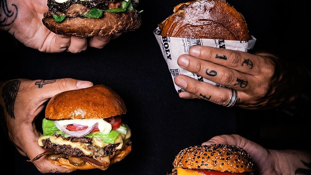 Melhores Restaurantes Holy Burger hamburgueria Vila Buarque São Paulo