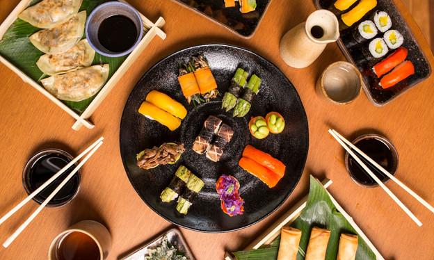 Comida japonesa vegana? Já existe em SP, na nova unidade da rede Sushimar, nos Jardins