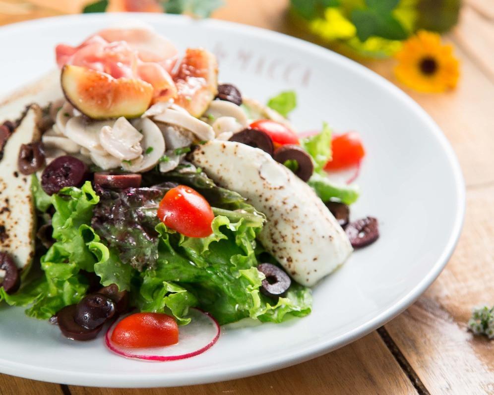 Melhores Restaurantes Novos La Macca Pizzaria gastronomia Jardins Linguini Salada