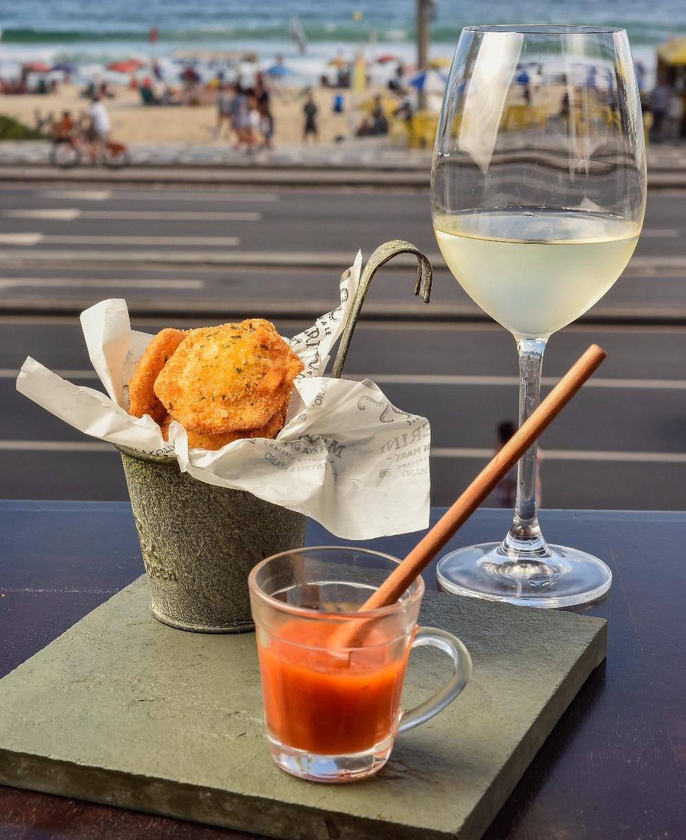 Melhores restaurantes novos Masserini Osteria di Mare Ipanema Sol Ipanema