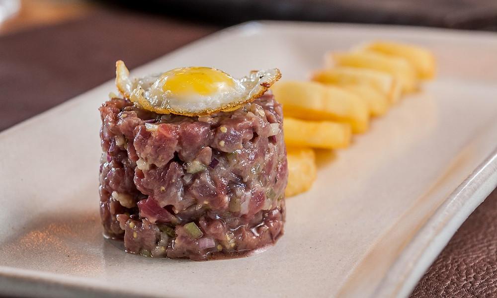 Melhores restaurantes novos Sal Gastronomia Henrique Fogaça Cidade Jardim Setak Tartare